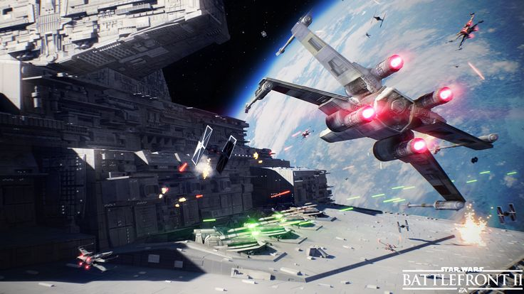 General 1920x1080 Star Wars: Battlefront Star Wars video games Star Destroyer X-wing TIE Fighter Star Wars Battlefront II