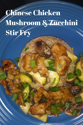 Sautéed Chinese Chicken Mushrooms And Zucchini   – A Recipes Blog