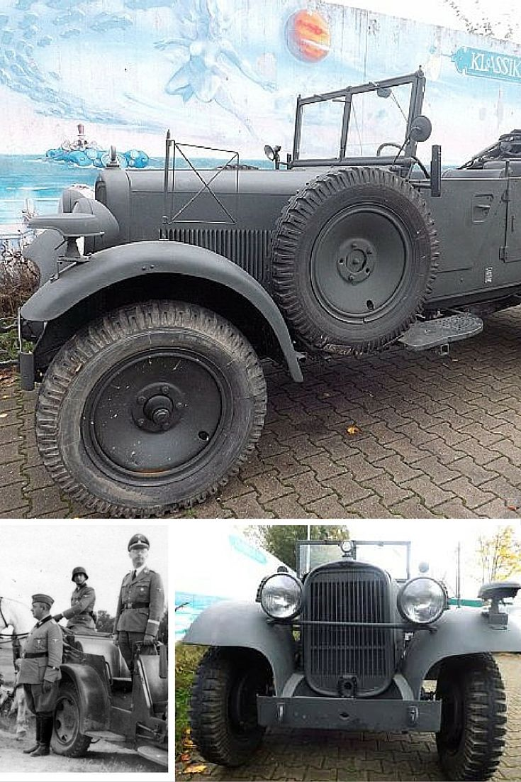 Heinrich himler s military car used to transport him during the holocaust for sale for