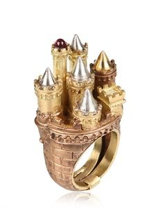 ALESSANDRO DARI – VECCHIO CASTELLO RING – LUISAVIAROMA – LUXURY SHOPPING WORLDWI… – Kaili Lee