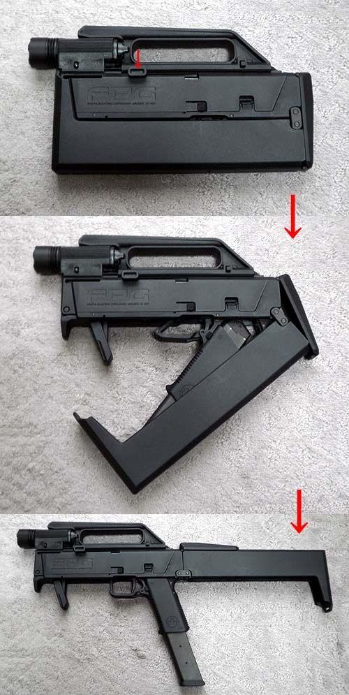 GUN P0RN: Magpul FMG9 (Folding Machine Gun 9)