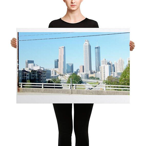 Canvas' ATLANTA CITY VIEW