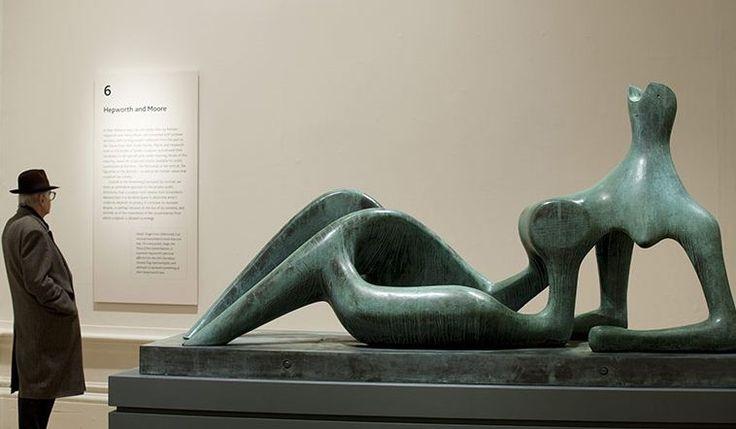 "Генри Мур, ""Полулежащая фигура"", 1951 год."