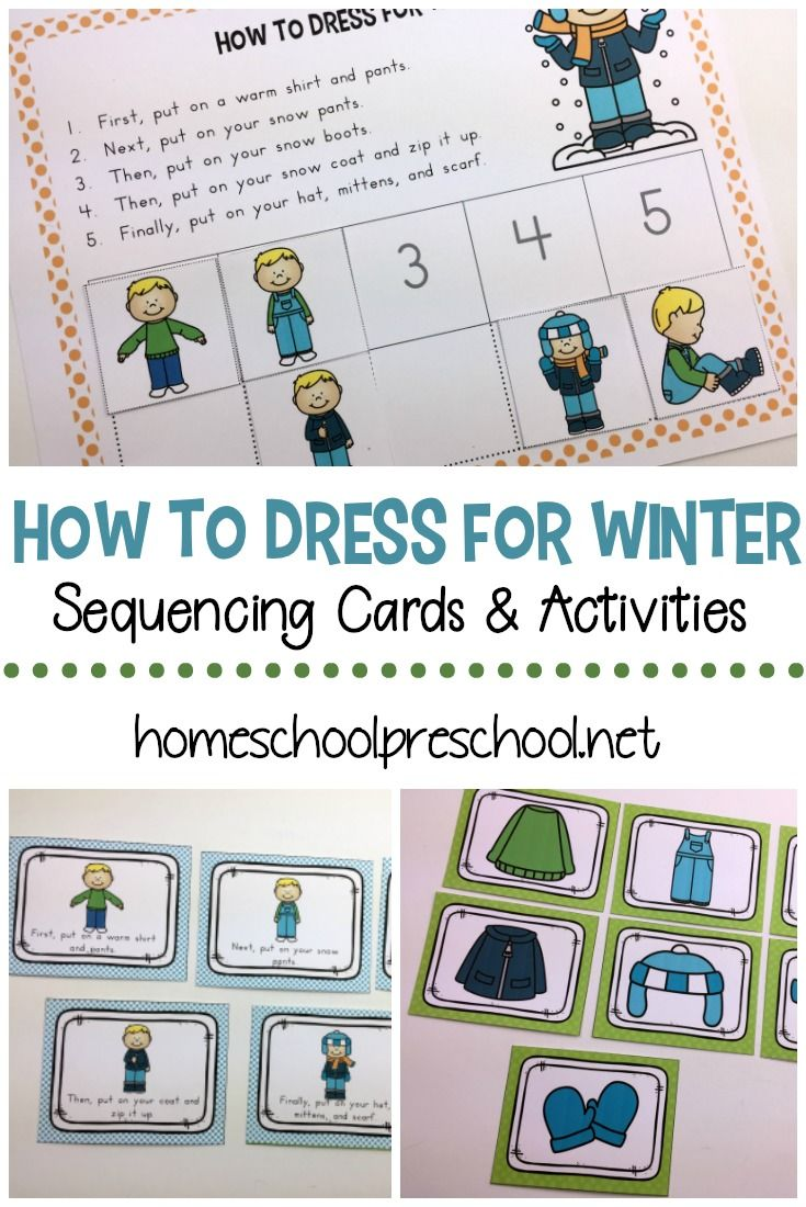 How To Dress For Winter Sequencing For Preschoolers Winter Activities Preschool Winter Activities For Kids Preschool Printables [ 1100 x 735 Pixel ]