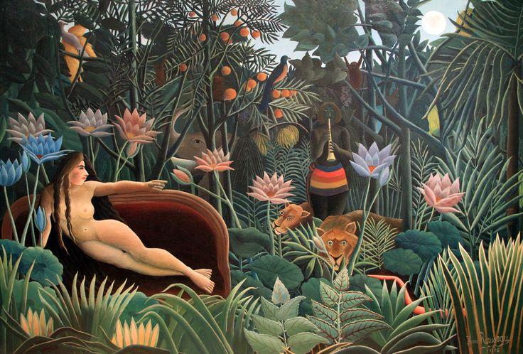 Le Rêve par Henri Rousseau