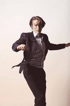 Mads Mikkelsen - studied at the ballet academy in Gothenburg, was a professional dancer for almost 10 years