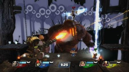 PS3 exclusive Playstation All-Stars Battle Royale video and screenshots