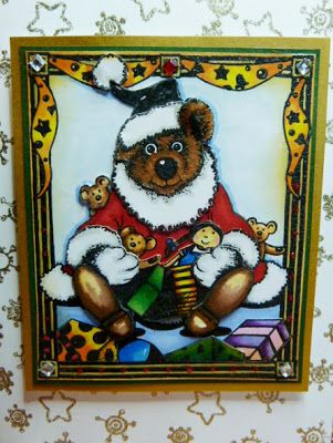 Personal Impressions Blog: Christmas Teddies by Tracey Fairgrieve