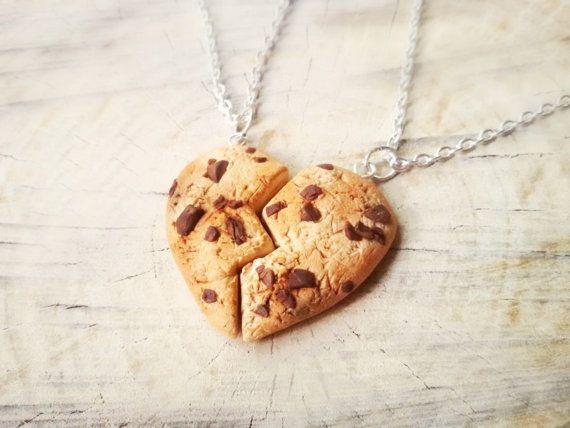 Cookie best friend food necklace