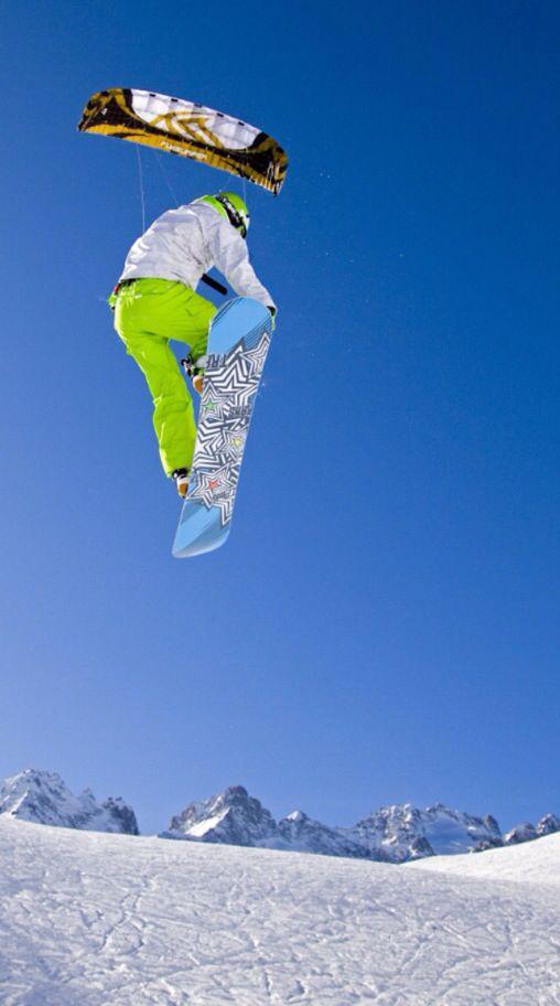 Extreme Sport: Snow-Kiting