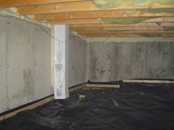 basement vapor barrier how to will use this for earth retaining wall