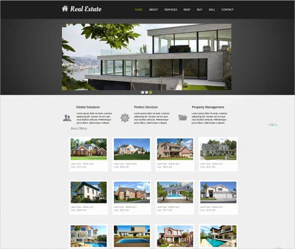 Free Real Estate Templates New 33 Real Estate Website Themes Templates Real Estate Website Real Estate Real Estate Website Templates