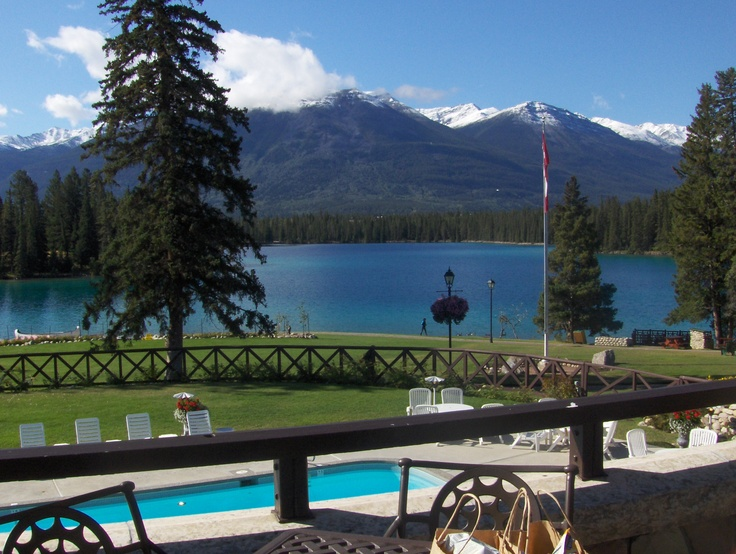 The Fairmont Jasper Park Lodge Alberta Canada