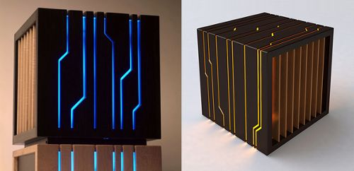 Tron Case. Beautiful work