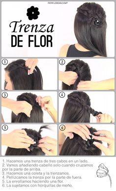 Peinados paso a paso Trenzas para niñas 2