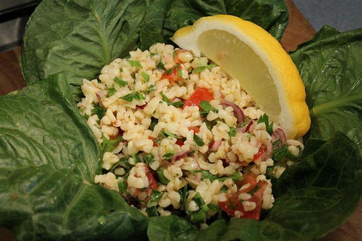 Tabulé saláta recept
