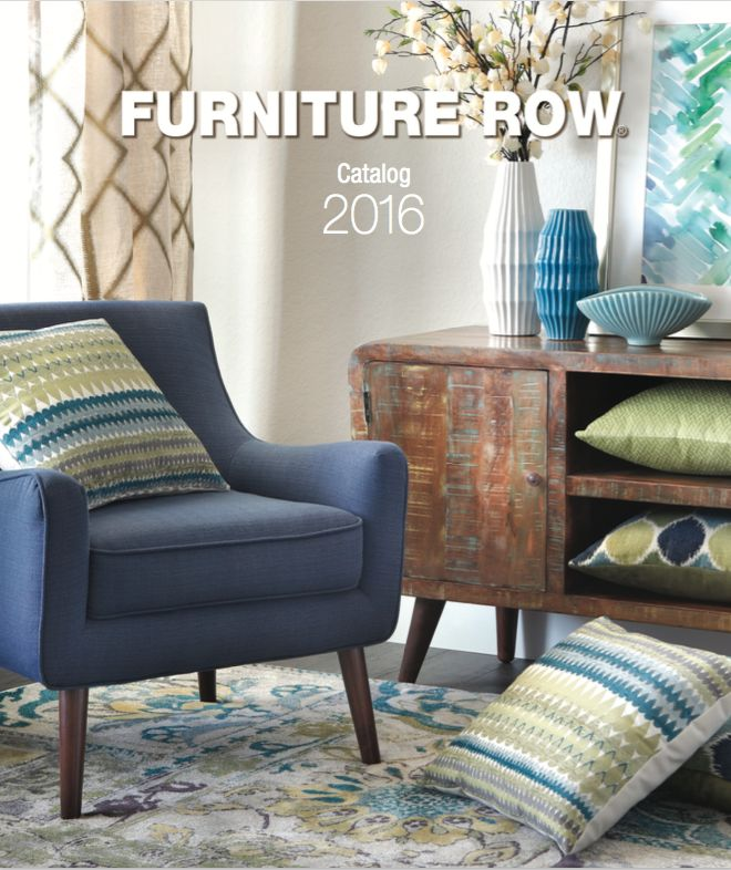 The 2016 Furniture Row Catalog For The Latest Looks Available