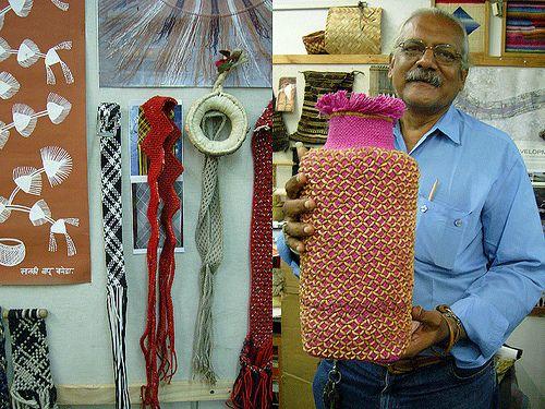 Errol Pires, Ply-split braider, NID, Ahmedabad, India.