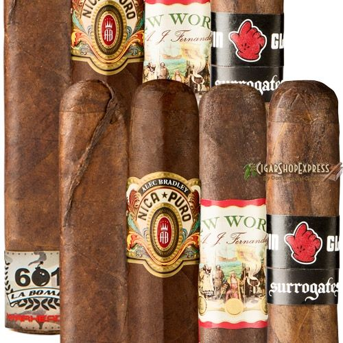 New Online Cigar Deal: RCigars 8-Cigar Sampler – $47.8 added to our Online Cigar Shop https://cigarshopexpress.com/online-cigar-shop/cigars/cigars-cigar-samplers/rcigars-8-cigar-sampler/ Cigar samplers make great holiday presents that will increase your fame and enjoyment. They are also a great way to introduce your friends to a wide variety of premium handmade ...
