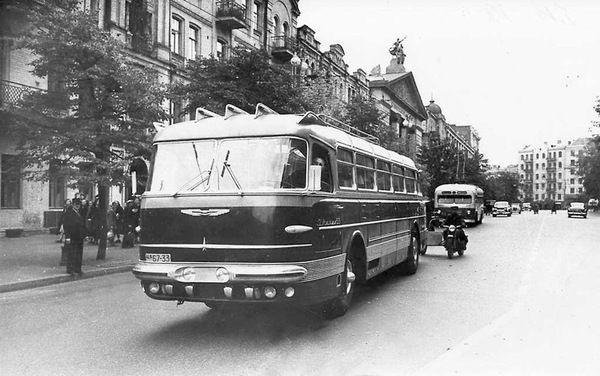 Ikarus-55. Первая версия легендарного автобуса. авто, автобус, фотография, ретро, Интересное, техника, икарус