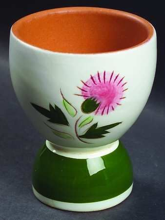 Stangl Thistle Double Egg Cup. & 51 best luves me some stangl images on Pinterest | Dinnerware ...