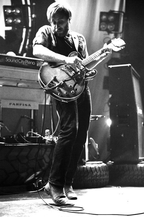 the black keys were made to be shot in B&W