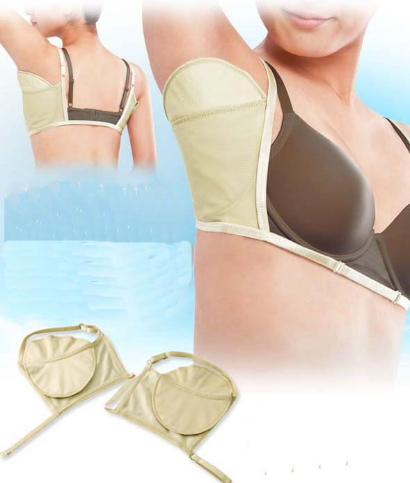"""New Sweat Pad Antiperspirant Underarm Armpit Guard Sheet Shield Bra Absorb Stain"""