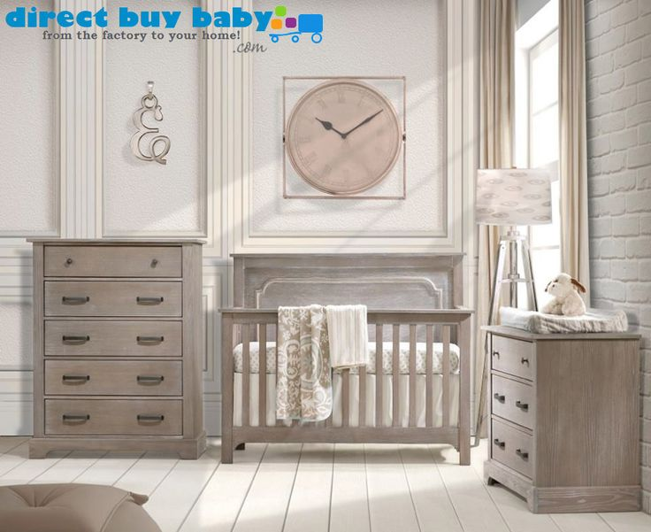 If you're looking for a gorgeous rustic or distressed nursery furniture that's quality check out the Nest Juvenile Emerson Collection. This is quality nursery furniture that is made from strong Oak wood in Canada. All of the finishes used on their products are baby-safe GreenGuard Certified, and come with self-closing drawer glides. You can find more information @directbuybaby