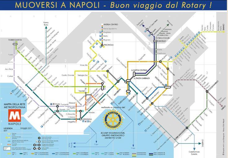 Naples Metro Map: captura de pantalla