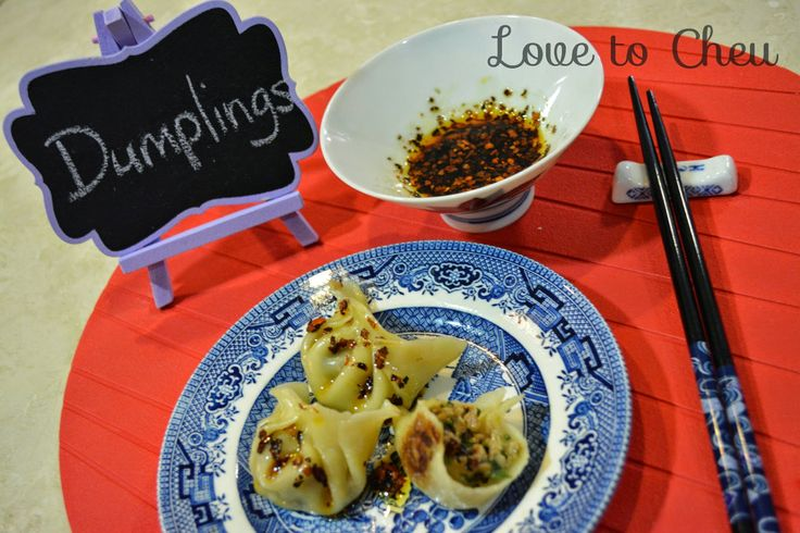 Love to Cheu: Sticky pot pork and chives dumplings