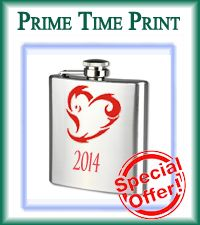 Really cool gifts for the cool couples!  haha  Valentine's Day Flasks Love it  Wicked heart design flasks valentines twisted heart 2014 flask