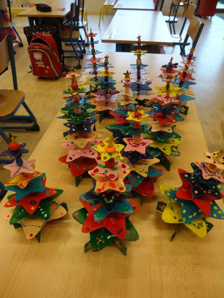 bricolage sapins de noel cp  Bricolage  Pinterest  Noël et ...