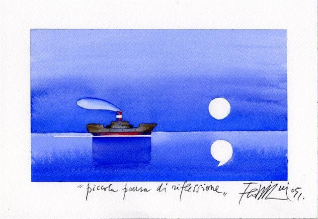 Sergio Fedriani - Piccola pausa di riflessione