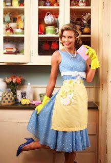 Cleaning schedule and daily routine to keep up with housework.