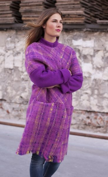 """Yaga coat – new collection of clothing """"Contrast"""", Fall 2015"""