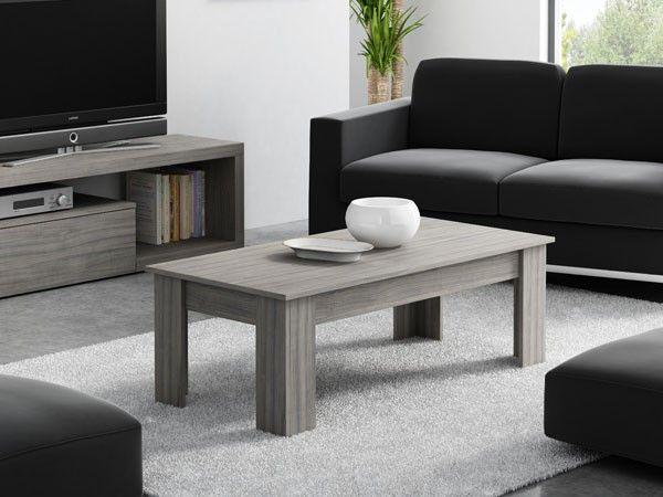 mesa de saln modelo jpiter color madera haya claro dimensiones 135cm precio 119 - Muebles Bonitos