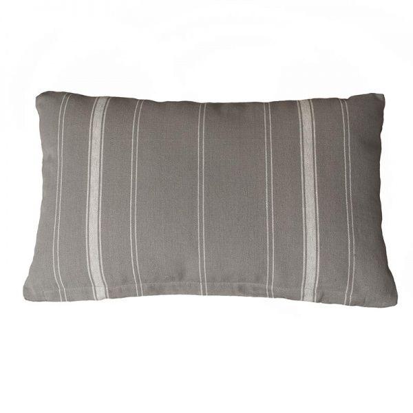 Kelo tyynynpäällinen 35x55 cm, harmaa/valk