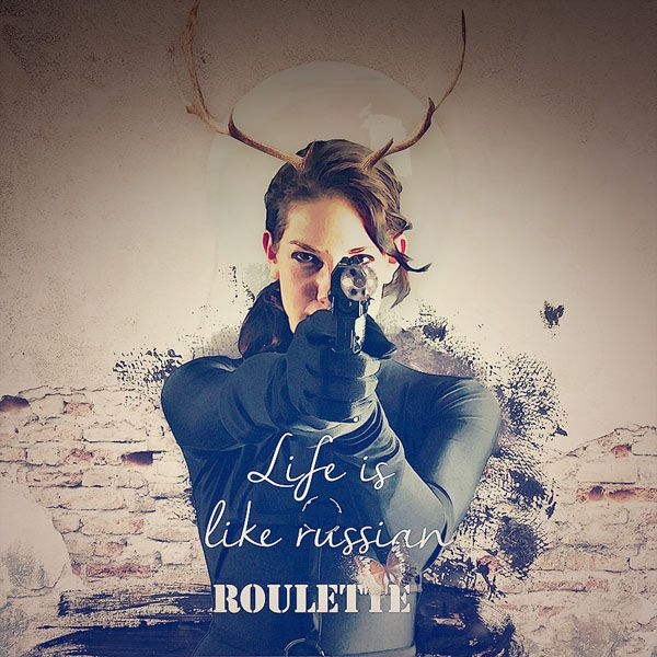 Russian Roulette #art #digital #scrapbook #digitalcollage #digital #photshop #photomanipulation