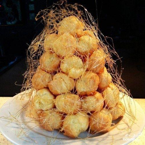 """Торт """"Крокембуш"""" - пошаговый рецепт с фото на Повар.ру"""