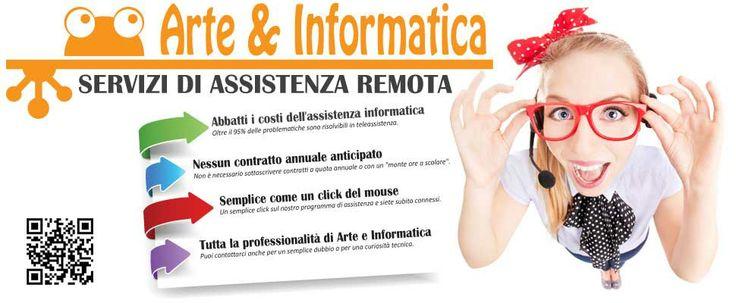 NESSUN CONTRATTO ANNUALE ANTICIPATO    Per ricevere assistenza sui propri PC in remoto non è necessario sottoscrivere contratti a quota ann...
