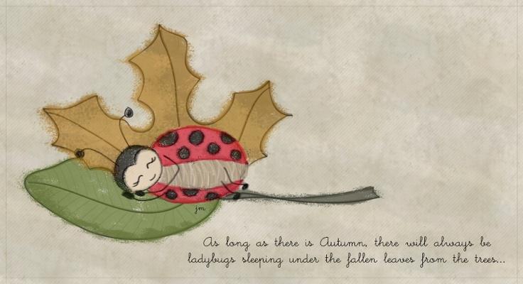Ladybugs love Autumn