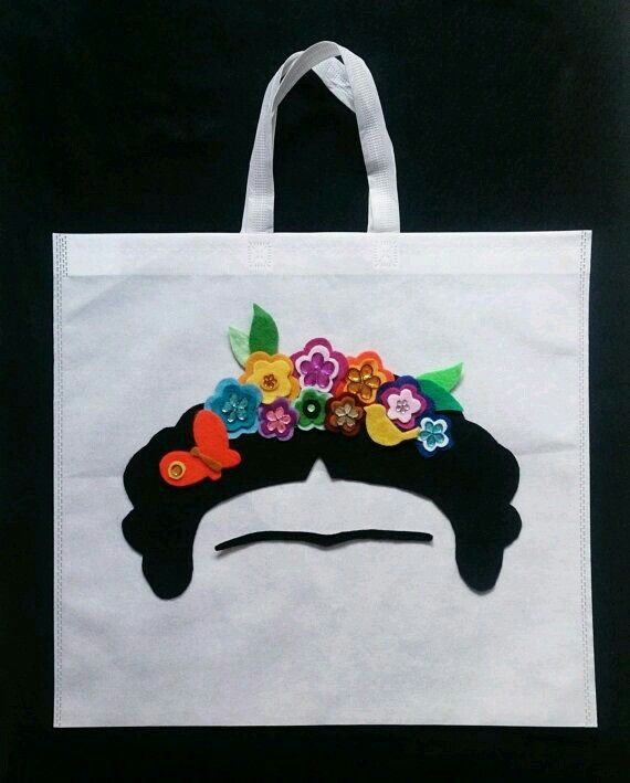 Handbag Frida Kahlo                                                                                                                                                                                 Mais