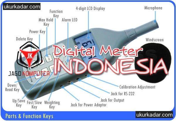 Alat Pengukur Kebisingan Suara Sound Level Meter SL-5868P