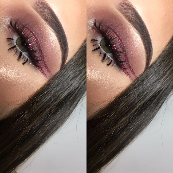 Glitter ✨ eye glitter ✨ makeup ✨ eye makeup ✨ burgundy eyes ✨ #makeup #eyemakeup #contour #eyeshadow #highlight #beauty #mua #lashes #eotd #motd #highlighter #eyebrows #brows #makeupporn #makeuplook #eyeshadow #eyeliner #eyelashes #creativemakeup