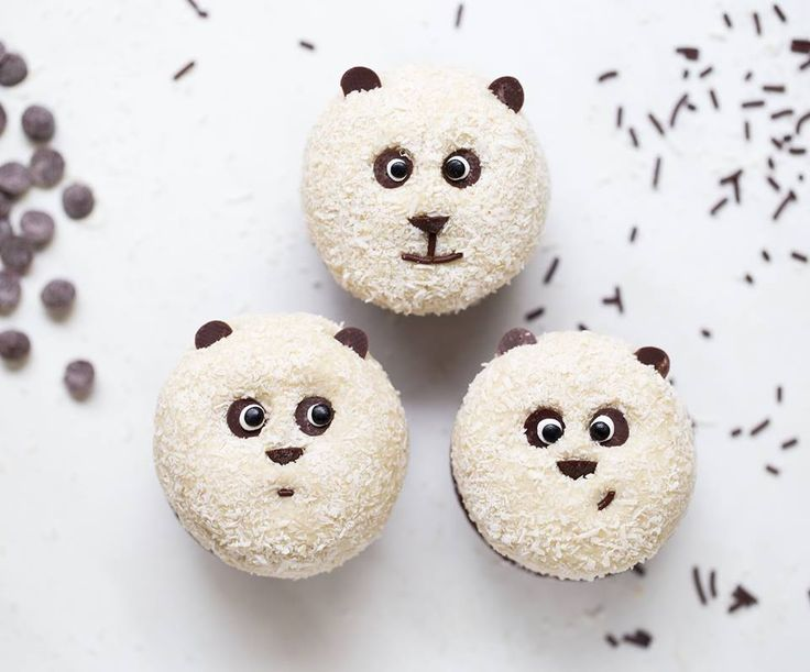Vegane Panda Muffins (glutenfrei) - Healthy On Green