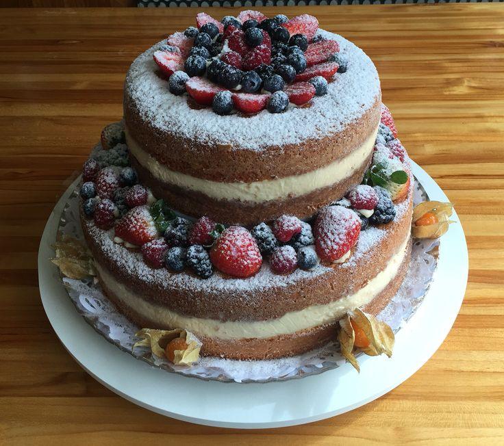Naked Cake da Divine Sucré - by Carol Mansor