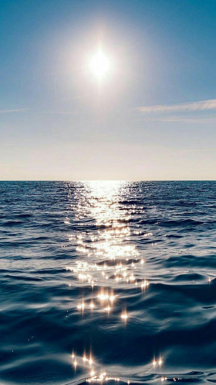 Sparkling Ocean Ocean Wallpaper Nature Iphone Wallpaper Beautiful Wallpapers