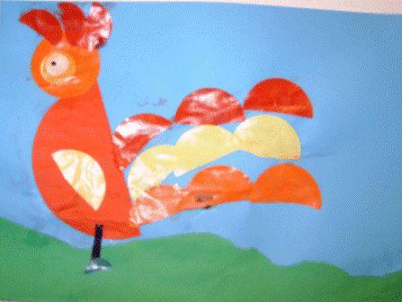 kip vouwen kleuters