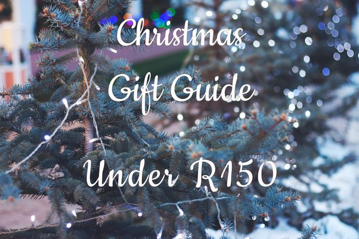 CHRISTMAS GIFT GUIDE: Stocking Filler (under R150)