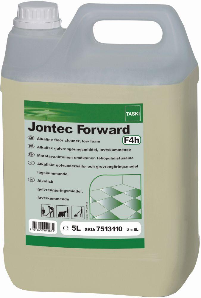 Taski Jontec Forward este un detergent degresant cu spumare redusa, ideal pentru curatarea pardoselelor cu grad ridicat de murdarie.